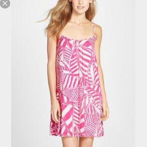 f77caa5e0e054c Lilly Pulitzer Dresses - Lilly Pulitzer Daphne Capri Pink Yacht Sea dress